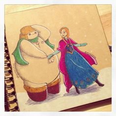 Varietats: Baymax and Disney