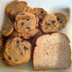 Must try--Put a piece of bread in the container with fresh baked cookies and the cookies with stay soft for at least a week! (If they last that long!!)