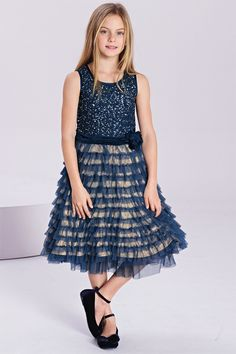 Girl's Clothing Online - 3 to 16 years - Next Garden Print Prom ...