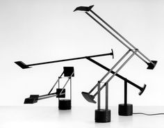 Tizio  1972 Desk lamp Artemide  Prize Grand Prix Triennale XV 1974 Gold Medal Triennale XV 1974 Gold Medal at Bio 9 Ljubljana 1981 Selection Compasso d'Oro 1979  Included in the Permanent Design Collection at the Museum of Modern Art in New York