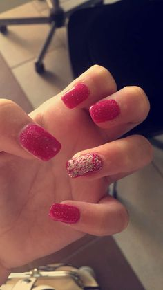 Acrylic nails from Eden Hair and beauty