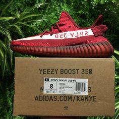 3b3164ea3a8 Adidas Yeezy Boost 350V2 Real Boost Wine Red DA9568 10 adidas Yeezy ...