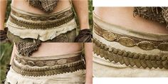 Dothraki Outfit- Belts close-up