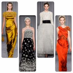 Marchesa runway to red carpet oscar contenders - runway report on redsoledmomma.com