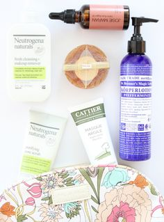 natural beauty products, eco beauty products, eco cosmetics, neutrogena, Cattier, Bronner's