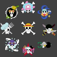 Flags of the crew with straw hat – One Piece Ace One Piece, One Piece Manga, One Piece Logo, One Piece Tattoos, One Piece Drawing, Pieces Tattoo, Zoro One Piece, One Piece World, One Piece Images