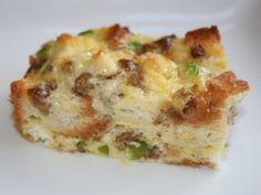 Breakfast Egg Bake (Weight Watchers Points 6)