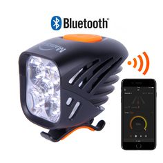 MJ-906B Bluetooth Bike Light | USB rechargeable | MTB headlight