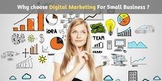 Do you already own a small business online or have any idea to move your business in online presence then you must use digital marketing for skyrocketing your business sales cycle. Business Sales, Small Business Marketing, Online Business, Best Digital Marketing Company, Digital Marketing Services, E Commerce, Inbound Marketing, Email Marketing, Branding