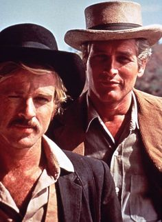 Paul Newman, Robert Redford, and Katharine Ross in Butch Cassidy and the Sundance Kid Sundance Kid, Jessica Tandy, Lee Strasberg, Hollywood Stars, Classic Hollywood, Old Hollywood, Melanie Griffith, Fred Astaire, Bruce Willis