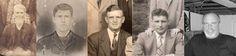 Five Generations of Moores James Wasson Moore, William P. Moore, Almer E. Moore, Sherman W. Moore, Joe S. Moore
