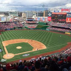 April 7, 2016 - Opening Day at Nationals Park, the home of the Washington Nationals.