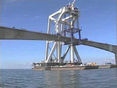 Confederation Bridge Construction ENG - YouTube