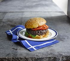 Best Ever Juicy Burgers Recipe with Hellmann's® Real Mayonnaise, plain dry bread crumb, Lipton® Recipe Secrets® Onion Soup Mix, ground beef, hamburger buns