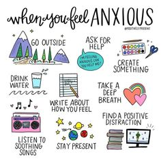 A great printable for kids who struggle with anxiety!