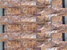 Rainbow ledge wall cladding stone tiles for home decoration