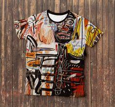 Philistines – Jean-Michel Basquiat t-shirt, Full Print, Free Shipping