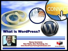WordPress is a free and open source blogging tool and a content management system (CMS) based on PHP and MySQL, which runs on a web hosting service.   Features include a plug-in architecture and a template system.   Why Use Wordpress? •Quick – Design a Website in Minutes •Easy to Use / Functional •DIY - Possible to Do It Yourself •Professional Designs – Thousands Free Themes •SEO  •Social Media Friendly •Inexpensive / Save Money on Changes