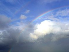 rainbows   Rainbows couds sky public domain image picture in gallery Rainbow is ...