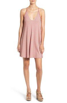 Lush Stripe Rib Knit Tank Dress available at #Nordstrom