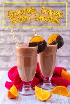 What better way to refuel after a workout or to start your morning than with aChocolate Orange Protein Smoothie? The delicious combination of cocoa and fresh orange juice in a protein packed smoothie, thanks to Herbalife Nutrition's PRO 20 Select protein shake. via @hhhdannii