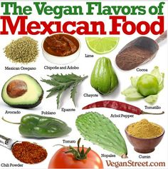 flavors of mexican food! #MyVeganJournal