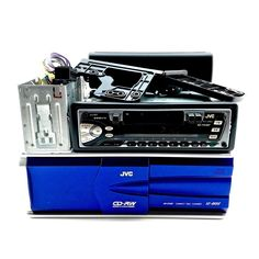 Jvc Stereo & Cd Changer 12 Disc Ch-x500 Is-fx202 Cage Booklet Instructions VGC Booklet, Cage, Nostalgia, Ebay