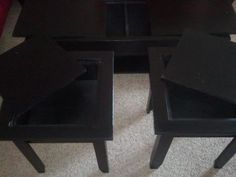 Tables with hidden storage