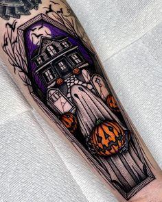 Wicked Tattoos, Spooky Tattoos, Up Tattoos, Badass Tattoos, Time Tattoos, Future Tattoos, Body Art Tattoos, Sleeve Tattoos, Tattoo Sketches
