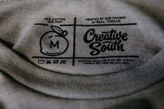 Custom T-Shirt Labels | Custom Printed Tags | Real Thread