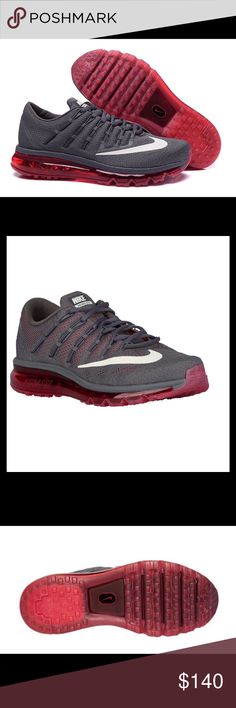 b2c50218dc6 Nike Air Max 2016 Running Men s Shoes The full-length Max Air unit in the  Nike Air Max 2016 delivers maximum cushioning and flexibility that you can  see ...