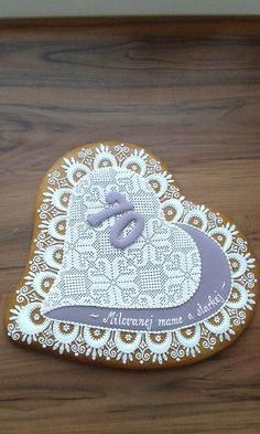 Lace Cookies, Sugar Cookies, Bee Cupcakes, Sugar Art, Royal Icing, Decoration, Biscotti, Cookie Decorating, Gingerbread