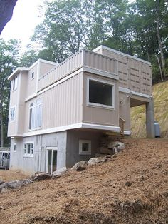 Shipping Container Homes: High Country Green Boxes, DwellBox - Boone, North Carolina, - 5 Shipping Container Home
