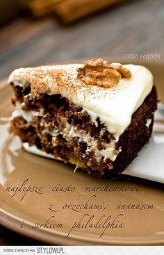 Moje Wypieki | Ciasto marchewkowe, najlepsze na Stylowi.pl