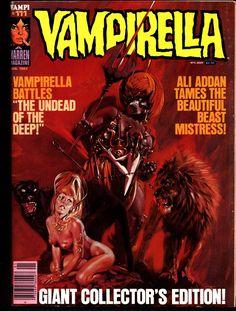 VAMPIRELLA #111 Jose Gonzalez Rafael Auraleon Esteban Maroto Jose Ortiz Sexy Blood Sucking Vampire Cult Anti-Hero