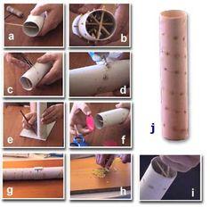 Como hacer Instrumentos Musicales Caseros <sub>Palo de Lluvia y mas</sub> - enrHedando