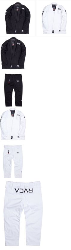 Other Combat Sport Clothing 73988: Shoyoroll X Rvca - Both Black And White Gi Set Size A3 BUY IT NOW ONLY: $699.99