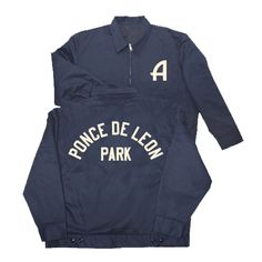 Atlanta Crackers Grounds Crew Jacket