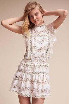 Anthropologie Marais Mini Wedding Guest Dress