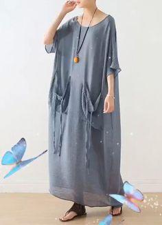 Linen Dresses, Casual Dresses, Fashion Dresses, Floral Plus Size Dresses, Ugly Outfits, Long Summer Dresses, Linens And Lace, Plus Size Fashion, Clothes For Women