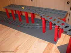Gimme Lego: Change of Plan Lego Design, Lego Track, Lego Train Tracks, Brick Construction, All Lego, Lego Room, Lego Worlds, Lego Models, Lego Projects