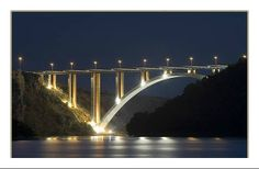 #Croatia. #Krka. Bridge over River Krka- Freeway Zagreb- Split. Pogled na  ogroman most preko rijeke Krke kod Skradina. Fot. Stjepan Mikulic