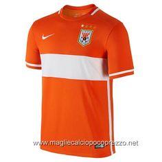 Nuova maglie calcio 2016 per maglia Home Shandong Luneng 2016