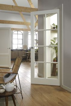 Barn Style Doors For House Doors Interior, New Homes, House Interior, French Doors, Home, Door Design Interior, Interior Barn Doors, Home Decor, Floor Design