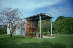 Home Sweet Container:  Steel shipping container homes are strong, safe, and eco-friendly.