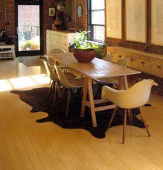 Dining room table (from Jacqueline and George Schmidt's apartment, sneak peek in designsponge*)