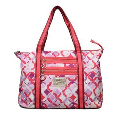 #Coach Coach Signature Logo Large Red Totes EOJ Represents Fashion Trend In This Hot Summer!Action Now!