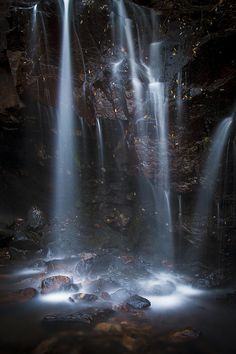 ✯ Falls of Light - Albert Falls - Rocky Mountain National Park, Colorado