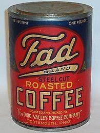 Fad Brand Steel Cut Roasted Coffee