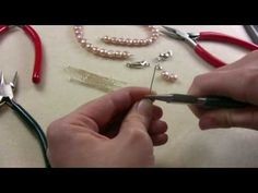 Wrapped Loop + links to many tutorials for jewelry making